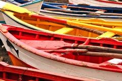 Gekleurde boten Royalty-vrije Stock Foto's