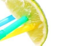 Gekleurde buisjes in kalk Royalty-vrije Stock Fotografie