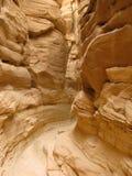 Gekleurde Canion, Sinai, Egypte Stock Afbeelding