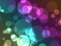 Gekleurde cirkels Stock Afbeelding