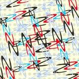 Gekleurde cirkels en golven op een lichte illustratie als achtergrond vector illustratie