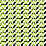 Gekleurde cirkels Naadloos Geometrisch Patroon stock illustratie