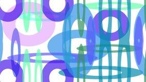 Gekleurde cirkels van verschillende grootte stock illustratie