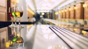Gekleurde cocktails Drie Royalty-vrije Stock Fotografie