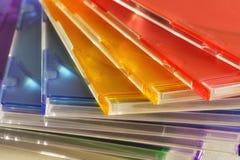 Gekleurde containers stock afbeelding
