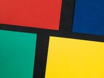 Gekleurde Document Kaartachtergronden met Exemplaarruimte Royalty-vrije Stock Afbeelding
