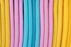 Gekleurde doek Stock Afbeelding