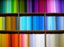Gekleurde doek Stock Foto