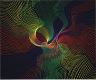 Gekleurde draad Stock Afbeeldingen