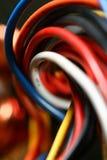 Gekleurde draad Stock Afbeelding