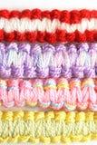 Gekleurde draden Stock Foto