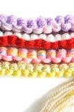Gekleurde draden Royalty-vrije Stock Afbeeldingen