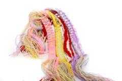 Gekleurde draden Stock Afbeelding