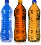 Gekleurde fles stock foto