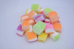 Gekleurde geleisnoepjes Stock Afbeelding