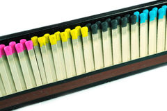 Gekleurde gelijken Royalty-vrije Stock Fotografie