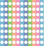 Gekleurde gestreepte textuur Stock Foto's