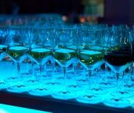 Gekleurde glazen Royalty-vrije Stock Fotografie