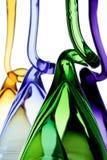 Gekleurde glazen Stock Afbeeldingen