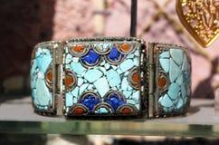Gekleurde grote armband Stock Afbeelding
