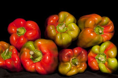 Gekleurde grote paprika Royalty-vrije Stock Foto