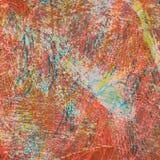 Gekleurde grunge abstracte textuur als achtergrond Stock Afbeelding