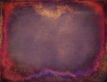 Gekleurde grunge kaderachtergrond Stock Fotografie