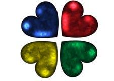 Gekleurde haard royalty-vrije stock afbeelding