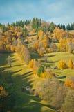 Gekleurde heuvel Stock Afbeelding