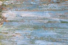 Gekleurde houten achtergrond heldere roze, blauwe, oranje, cyaan en perzikkleuren zoals oude mariene pastelkleur Stock Afbeeldingen