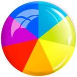 Gekleurde knoop Vector ontwerpelement Royalty-vrije Stock Afbeelding