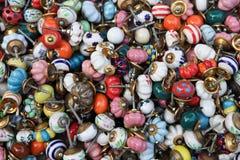 Gekleurde Knoppen Royalty-vrije Stock Afbeeldingen