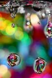 Gekleurde kraan Stock Fotografie