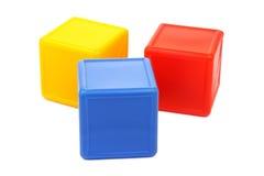Gekleurde kubussen Stock Foto