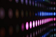 Gekleurde Lichte Strook Royalty-vrije Stock Afbeeldingen