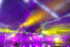 Gekleurde lichten royalty-vrije stock afbeelding