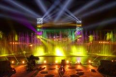 Gekleurde lichten royalty-vrije stock foto's