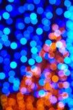 gekleurde lichtenachtergrond Abstracte psychedelische achtergrond Royalty-vrije Stock Foto's
