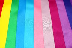 Gekleurde linten Royalty-vrije Stock Afbeelding
