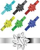 Gekleurde linten s Royalty-vrije Stock Foto's