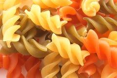 Gekleurde macaroni Royalty-vrije Stock Fotografie