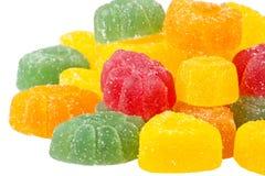 Gekleurde marmelade Stock Foto's
