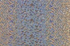 Gekleurde mozaïekvierkanten Royalty-vrije Stock Foto's