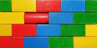 Gekleurde muur Stock Fotografie