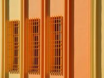 Gekleurde Muur Royalty-vrije Stock Foto's