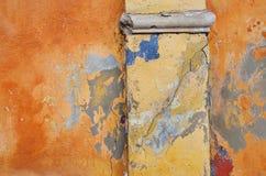 Gekleurde muur Stock Afbeeldingen