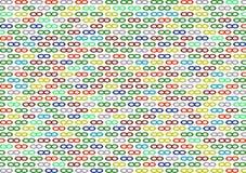 Gekleurde oneindigheid als achtergrond Stock Afbeeldingen