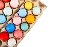 Gekleurde paaseieren Stock Afbeelding