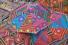 Gekleurde paraplu's Royalty-vrije Stock Foto