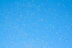 Gekleurde partijpopcornpan Stock Fotografie